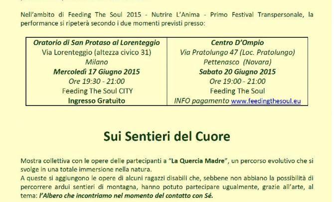 """Programma """"Sui Sentieri del Cuore"""""""